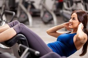 Gym Girl Wallpaper