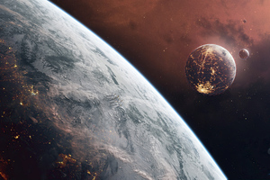 Hades Star Space 4k Wallpaper