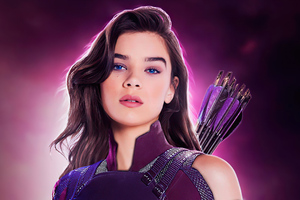 Hailee Steinfeld As Kate Bishop 4k Wallpaper