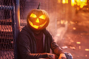 Halloween Boy 4k Wallpaper