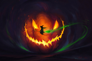 Halloween Witch 4k Wallpaper