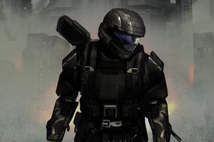 Halo 3 Odst Concept Art 4k Wallpaper