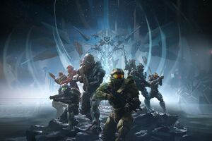 Halo 5 8k Wallpaper
