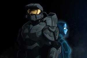 Halo 5 Hope Minimal 5k Wallpaper