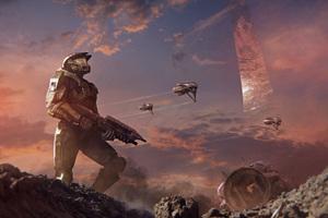 Halo Alpha Battle Wallpaper