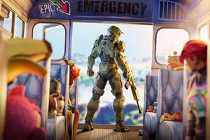 Halo Chief Fortnite Wallpaper