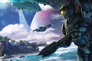 Halo Conflict Artwork 5k