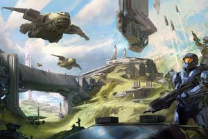 Halo Escalation 6 Wallpaper