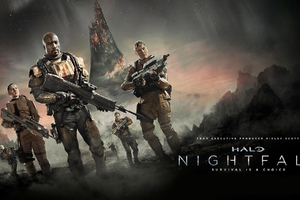 Halo Nightfall Wallpaper