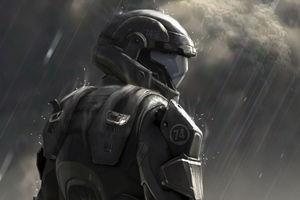 Halo Sniper Painting 5k