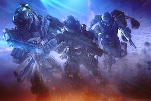 Halo Spartan Fireteam Flare 4k