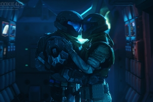Halo Valentine Day 4k