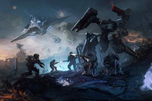 Halo Wars 2 Operation Spearbreaker Engagement Wallpaper