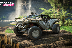 Halos Warthog in Forza Horizon 3