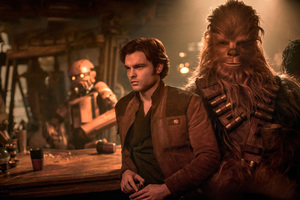 Han Solo And Chewbacca In Solo A Star Wars Story Entertainment Weekly