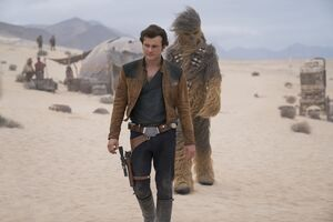 Han Solo And Chewbacca In Solo A Star Wars Story