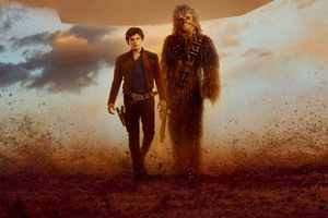 Han Solo And Chewbacca Solo A Star Wars Story
