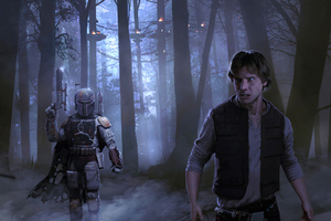 Han Solo Mandalorian 4kart