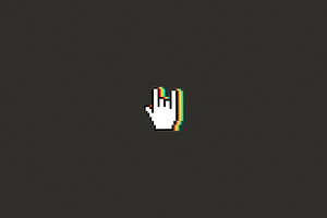 Hand Gesture Minimal Art 4k Wallpaper