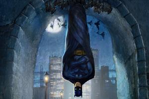 Hanging Batman