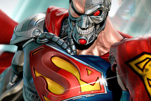 Hank Henshaw Cyborg Superman