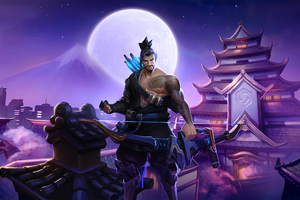 Hanzo Overwatch Artworks 4k