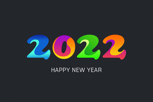 Happy New Year 2022 Wallpaper