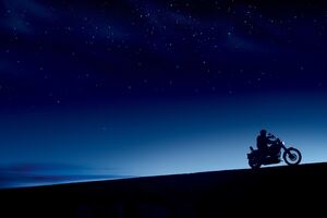 Harley Davidson Dark Evening 10k Wallpaper