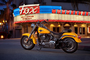 Harley Davidson Fat Boy Wallpaper