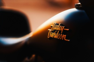 Harley Davidson Logo Bike Wallpaper