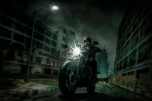 Harley Davidson Night Riders Wallpaper