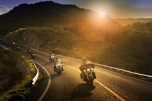 Harley Davidson Riders 8k Wallpaper