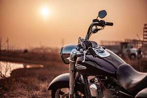 Harley Davidson Somewhere Wallpaper