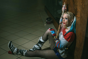 Harley Quinn 2020 Cosplay Wallpaper