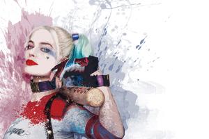 Harley Quinn 4k Art Wallpaper