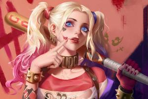 Harley Quinn 4kart