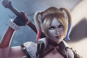 Harley Quinn 4kartnew Wallpaper