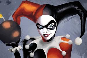 Harley Quinn 5k Art