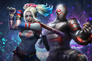Harley Quinn And Deadshot Injustice 2 Mobile