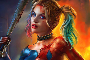 Harley Quinn Art 2020