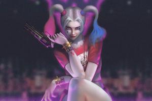 Harley Quinn Art 4k New