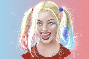 Harley Quinn Artwork 5k