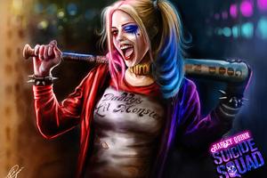 Harley Quinn Bad Girl
