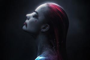 Harley Quinn Blood Bath 4k