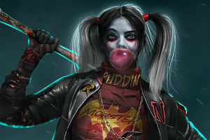 Harley Quinn Bosslogic Wallpaper