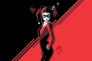 Harley Quinn Comic Digital Art