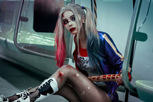 Harley Quinn Cosplay Art