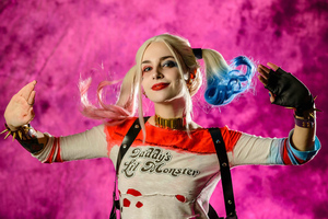 Harley Quinn Cosplay New 4k