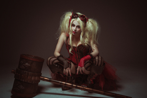 Harley Quinn Cosplay New Wallpaper