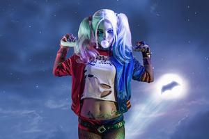 Harley Quinn Cosplaynew